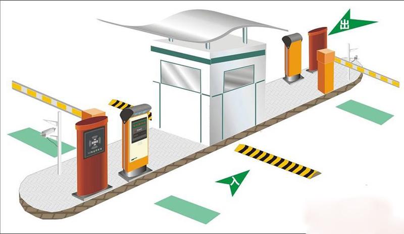 西安智能停车场系统_智能停车场系统系列 - 东凯科技,广西专业电动伸缩门之家
